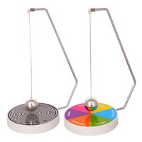 Creative Decision Maker Pendulum Dynamic Desk Toy Gift Decoration Magnetic Swinging Pendulum Game Fate Fun Desk Accessories Toys