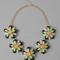 POPLAR JEWELED NECKLACE