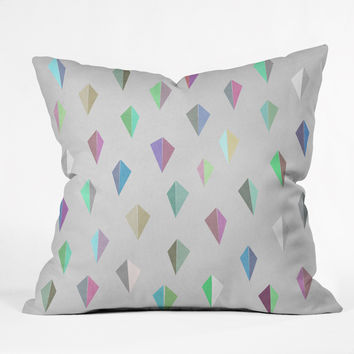Mareike Boehmer Nordic Combination 9 X Outdoor Throw Pillow