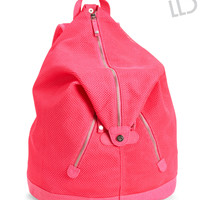 LLD Mesh Accent Backpack