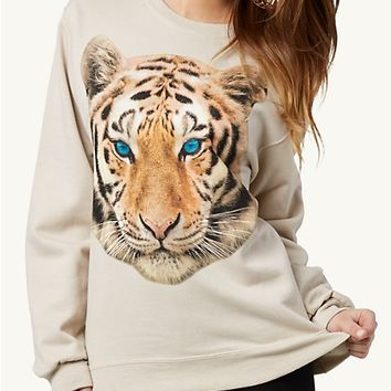 Tiger Eyes Retro Sweatshirt
