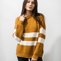 Ozzy Stripe Knit Sweater