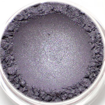 "Silver Blue Gray Eyeshadow - ""Secrecy"" - Vegan Mineral Eyeshadow Net Wt 2g"