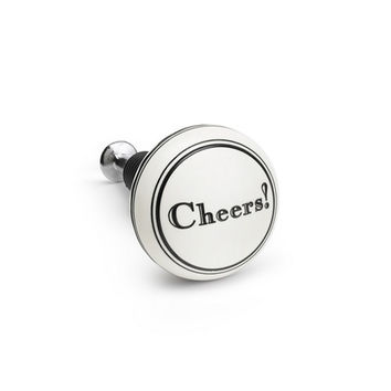 Cheers Bottle Stopper by Demdaco