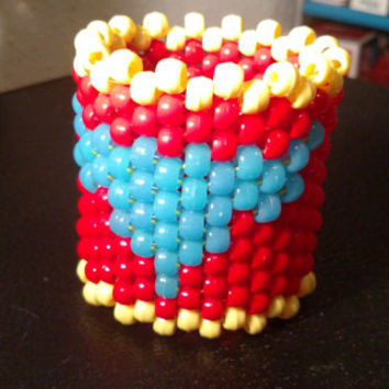 Iron Man Arc Reactor Kandi Cuff Glow In The Dark