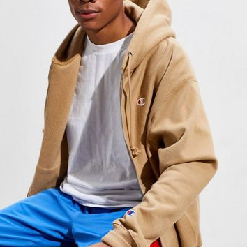 Champion UO Exclusive Zip-Up Hoodie Sweatshirt | Urban Outfitters