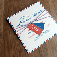 Save The Date Card - Love Is In The.. on Luulla