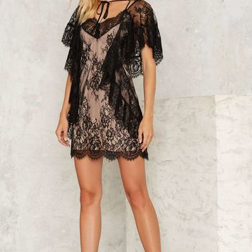 Nasty Gal Magdalene Lace Dress