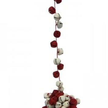 BELL GARLAND - RED + WHITE