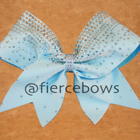 The Crowning Touch Rhinestone Cheer Bow