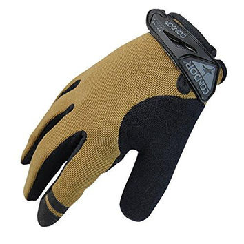 Shooter Glove Color- Coyote-Black (X-Large)