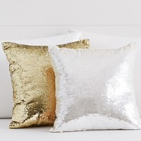 Mermaid Sequin Decorative Pillow