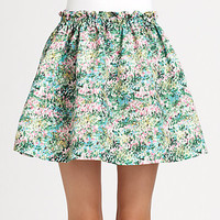 RED Valentino - Meadow Print Skirt