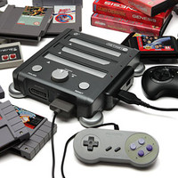 Retron 3 SNES/NES/Genesis Game System
