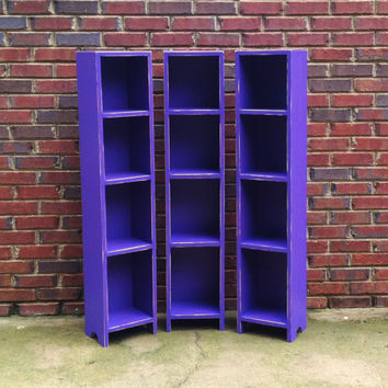 Media Storage Tower Shabby Style 47'' x 10'' x 9 1/2''