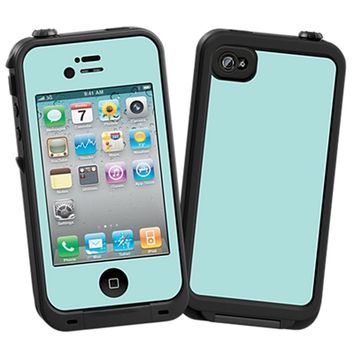 Mint Skin for iPhone 4/4S Lifeproof Case