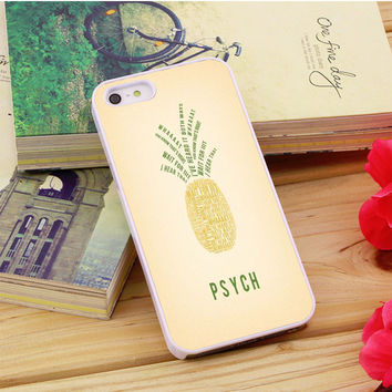 Psych Pineapple iPhone 5|5S|5C Case Auroid