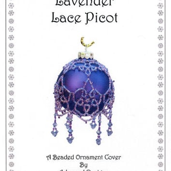 Lace Picot Beaded Ornament Pattern