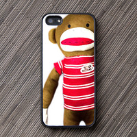 Red Sock Monkey iPhone Case - unique iphone cases