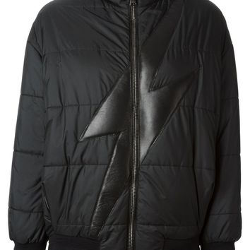 Neil Barrett lightening bolt padded jacket