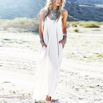 Boho Sexyback Maxi Dress
