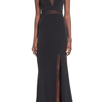 Way-In 'Wendy' High Neck Gown | Nordstrom
