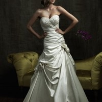 Ball Gown Sweet Heart Satin Sweep Train Wedding Dress [dd2865] - £247.51 : dressdeals.co.uk!, discount wedding dresses sale