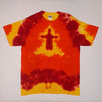 Burning Man Tie Dye Shirt - Any Size & Style Available