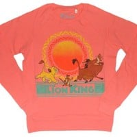Disney Lion King Junior/Women's Sweatshirt (Large)