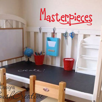Vinyl Wall Decal Masterpieces Childrens Art