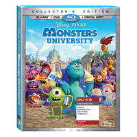 Monsters University - 3-DISC COMBO PACK (Blu-ray+Blu-ray Bonus+DVD+DIGITAL COPY)-Only at Target