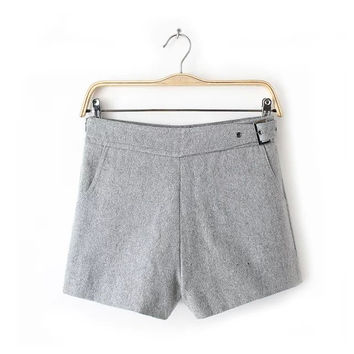 Winter Korean Pants Casual Boot Cut Shorts [4917800452]