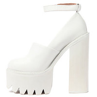 The Scully Platform in All White