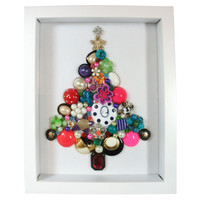 Colorful Jewelry Christmas Tree Garland