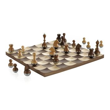 Wobble Chess Set by Umbra