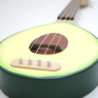 SOLID WOOD  Avocado ukulele ( Avolele )