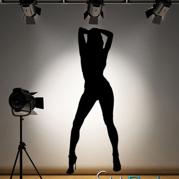 Vinyl Wall Decal Sticker Sexy Lady  #AC136