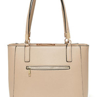 Morning Stroll Taupe Tote