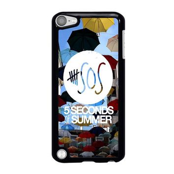 5 SECONDS OF SUMMER 4 5SOS iPod Touch 5 Case Cover