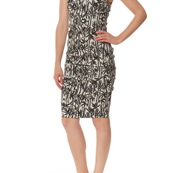 Atelier by Nicole Miller High-Neck Sheath Dress