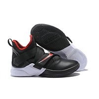 Nike LeBron Soldier 12 ¡°Bred¡±