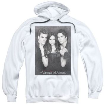 The Vampire Diaries That Was Then Licensed Adult Hoodie