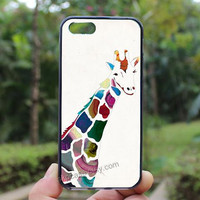 Giraffe,iphone 4 case,iPhone4s case, iphone 5 case,iphone 5c case,Gift,Personalized,water proof