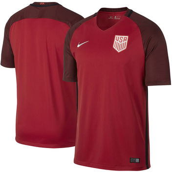 US Soccer Nike 2017 Third Replica Stadium Team Jersey - Red