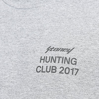 Post Malone Stoney Hunt Club Target Heather Grey T-Shirt | Zumiez