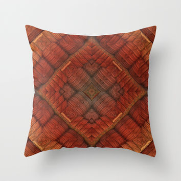 Plain and Simple Throw Pillow by Lyle Hatch