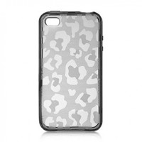 Dream Wireless Crystal Skin Case for iPhone 4/4S - Retail Packaging - Smoke Leopard