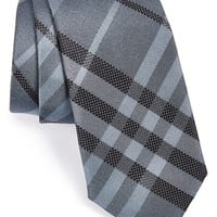 Men's Burberry London 'Rohan' Woven Silk Tie