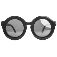 Circle Sunglasses - Black