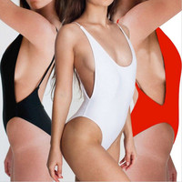 Women Bandage Bikini One Piece Swimsuit Bathing suit Swimwear